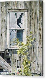 Acrylic Print featuring the painting Inner Beauty by Jackie Mueller-Jones
