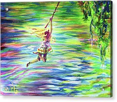 Inner Child Acrylic Print by Kristi Sandberg