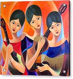 Inner Desire Acrylic Print by Khristina Manansala