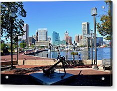 Inner Harbor Anchor Acrylic Print