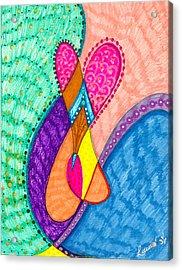 Inner Heart - V Acrylic Print