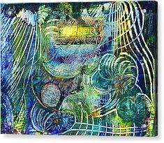Inner Journey Acrylic Print by Ishwar Malleret