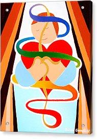 Inner Peace Acrylic Print by Jaison Cianelli