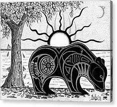 Inner Rhythm Acrylic Print