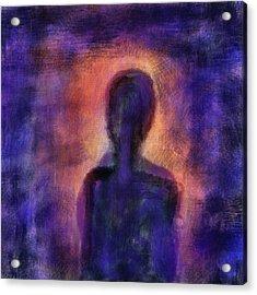 Acrylic Print featuring the digital art Inner Self by John Hansen