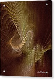 Inner Space Acrylic Print by Jean Gugliuzza