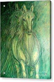 Inner Spirit Acrylic Print by Kim Jones