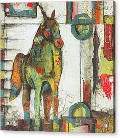 Inner Strength  Acrylic Print by Laura Lein-Svencner