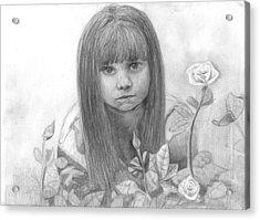 Innocence Acrylic Print by Katie Alfonsi