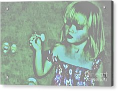 Innocence Acrylic Print by Marsha Heiken