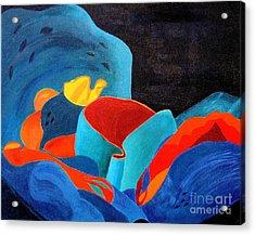 Inorganic Incandescence Acrylic Print by Lynne Reichhart