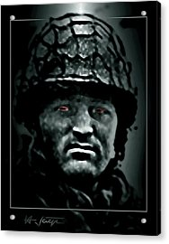 The  Insanity  Mind-less  State  Of Isis Acrylic Print by Hartmut Jager
