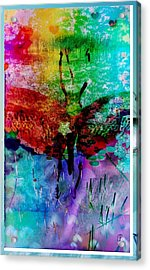 Insects And Incense Acrylic Print