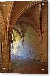 Inside A Monastery Dordogne France  Acrylic Print by Dave Mills