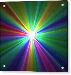 Inside A Rainbow Acrylic Print