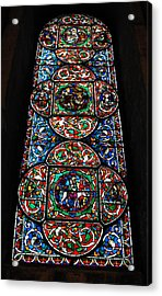 Inside Canterbury Cathedral Acrylic Print