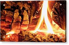 Inside Fire Acrylic Print