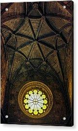 Acrylic Print featuring the photograph Inside Jeronimos by Carlos Caetano