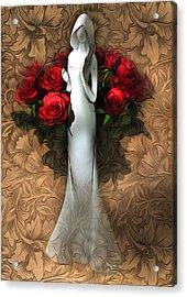 Inside Pattern Acrylic Print by Svetlana Sewell