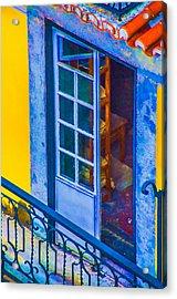 Inside Portugal Home Acrylic Print by Julie Palencia