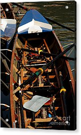 Inside Sail Boat Acrylic Print by Michael Henderson