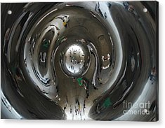 Inside The Bean Acrylic Print by Miguel Celis