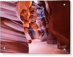 Inside The Canyon Acrylic Print by Bob and Nancy Kendrick