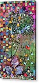 Inside The Garden Wall Acrylic Print