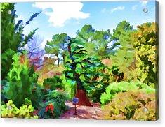 Inside The Japanese Garden 1 Acrylic Print
