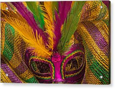 Acrylic Print featuring the photograph Inside The Masquerade by Julie Andel