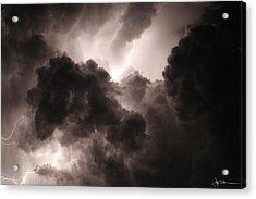 Inside The Storm Acrylic Print