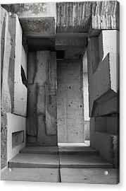 Inside The Walls 2 Acrylic Print by David Umemoto