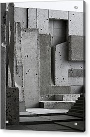 Inside The Walls 3 Acrylic Print by David Umemoto