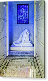 Inside The Weeping Angel Tomb - Nola Acrylic Print
