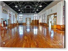 Inside The Wu De Martial Arts Hall Acrylic Print by Yali Shi