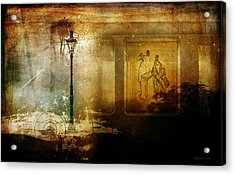 Inside Where It's Warm Acrylic Print by Bellesouth Studio