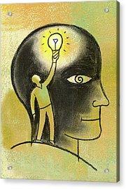 Inside Your Mind Acrylic Print