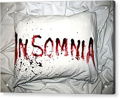 Insomnia Acrylic Print by Nicklas Gustafsson