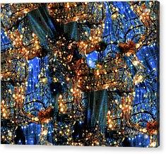 Acrylic Print featuring the digital art Inspiration #6102 by Barbara Tristan