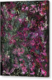 Inspiration Never Visits The Lazy Acrylic Print by Antonio Ortiz