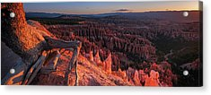 Acrylic Print featuring the photograph Inspiration Point by Edgars Erglis