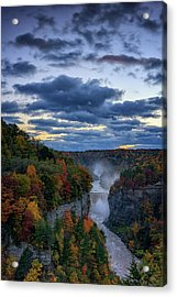 Inspiration Point Acrylic Print by Rick Berk