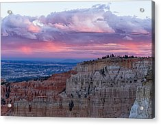 Acrylic Print featuring the photograph Inspiration Point Sunset by Patricia Davidson