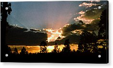Inspiration Sunset Acrylic Print