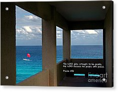Inspirational - Picture Windows Acrylic Print
