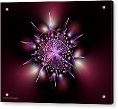 Inspire Acrylic Print by Dreamlight  Creations