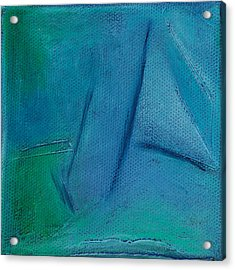 Inspired Blue 26 Acrylic Print by Jacqueline Steudler