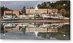 Institute Relections Acrylic Print