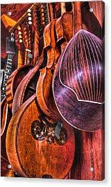 Instrumenti Acrylic Print by Frank SantAgata