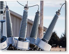 Acrylic Print featuring the photograph Insulators Gone Wild by Bill Kesler